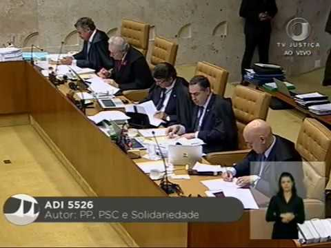 Pleno -  STF conclui julgamento de ADI sobre afastamento de parlamentares (1/3)