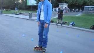 Fristyle-slalom 2 lesson Merlin