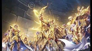 【无双】天马vs天龙,十分钟看童年经典动画《圣斗士星矢》