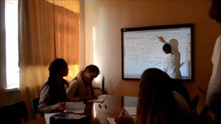 Відео уроку з використанням інтерактивної дошки