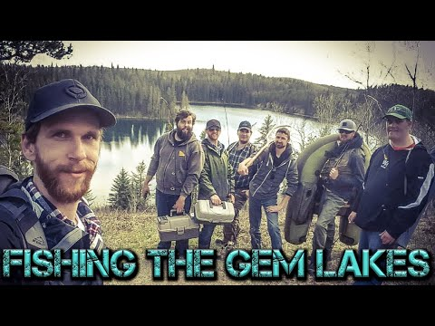 Fishing The Gem Lakes For Stocked Trout