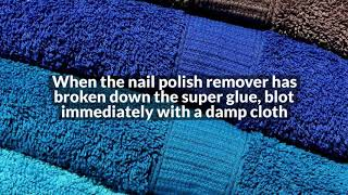 How to Remove Glue from the Carpet