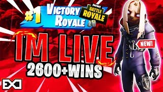 NEW* EVIL BUNNY SKIN! | TOP PS4 SOLO PLAYER! | 2,700+ WINS | Fortnite Battle Royale LIVE