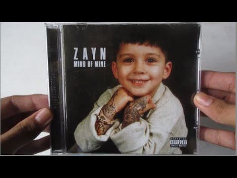 ZAYN - Mind Of Mine ( Deluxe Edition ) - Unboxing CD En Español