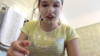 Как сделать маску-пленку для лица от угрей!