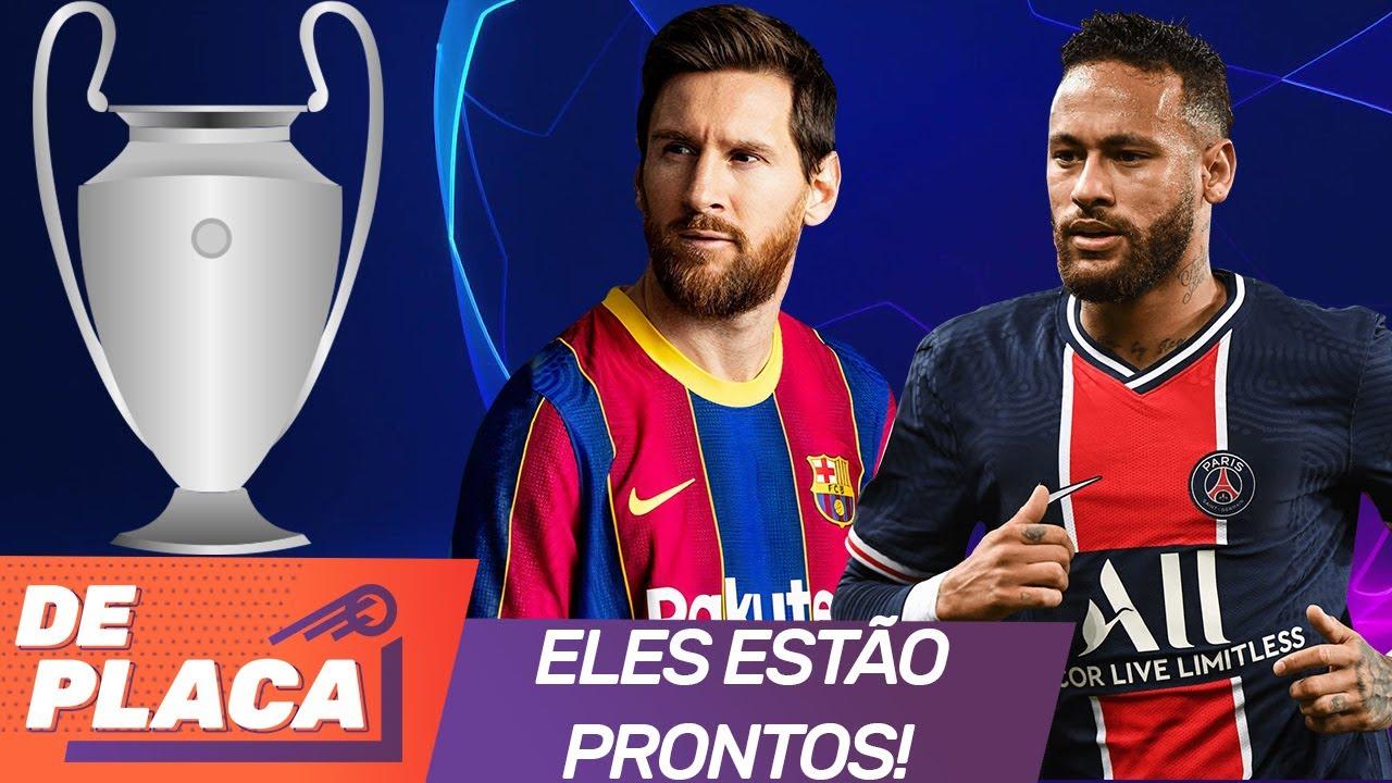 CHAMPIONS LEAGUE 2020/2021: VEM CONFERIR TUDO SOBRE O INÍCIO DA COMPETIÇÃO! | Girão De Placa