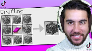 I Tested Viral TikTok Minecraft Hacks to see if they work (Ep. 4)