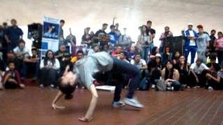 LATINO FUNK BATTLES 2 BGIRL S zoely(fresh) vs karen(simple)