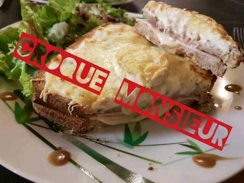 croque-monsieur-maison:-chèvre/dinde-&-dinde/bacon-monsieur-house-crunch:-goat/turkey-&-turkey/bacon