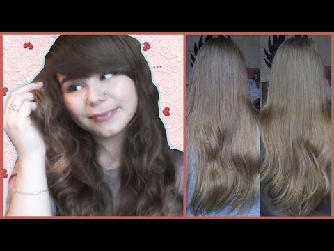 Как ромашкой осветлить волосы