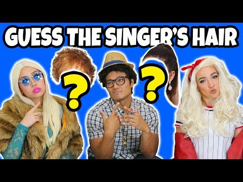 Guess the Singer's Hair Challenge (2018) Totally TV