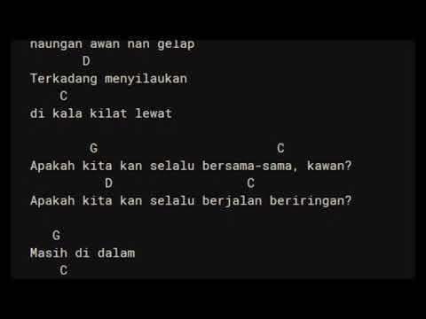 Iwa K - Bebas chord lirik