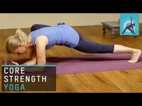 Core Strength and Hip Opening Yoga Sequence