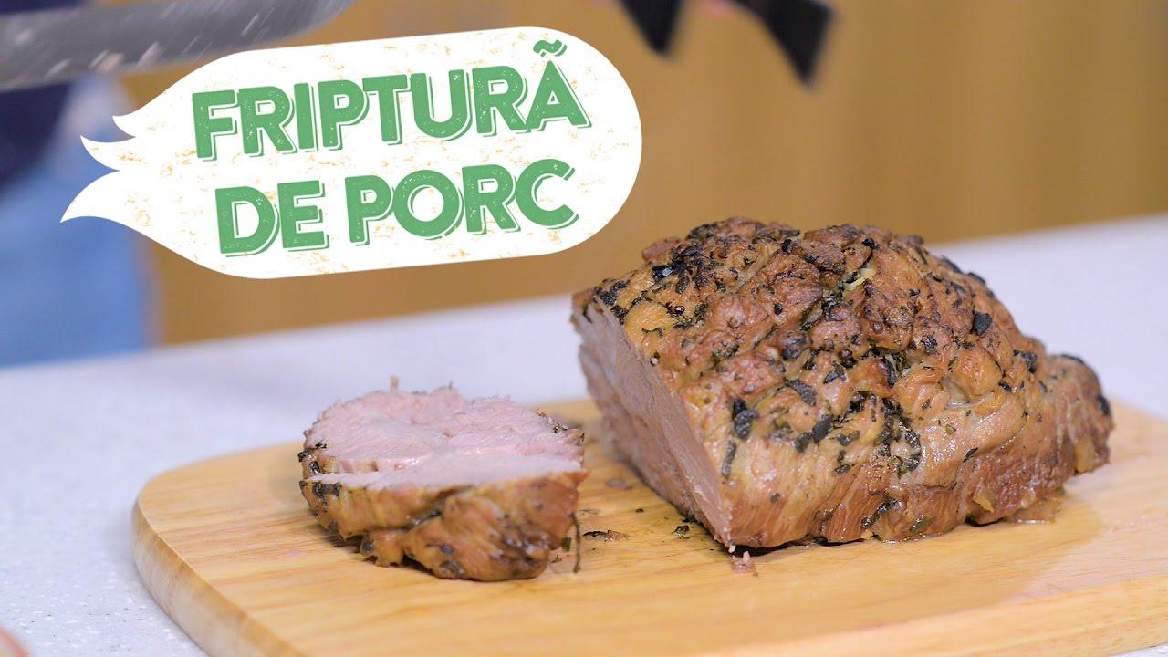 Reteta - Friptura de porc la cuptor cu sos | Bucataras TV