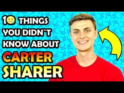 🤘 CARTER SHARER Top 10 Things You Didn't Know! 🤘 ft LIZZY SHARER 🔥 Born2BeViral 🔥