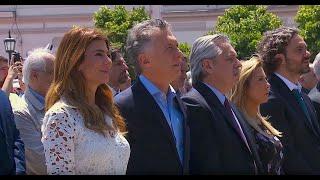 En vivo. Macri y Fernández asisten a una misa en Luján en vísperas del cambio de gobierno