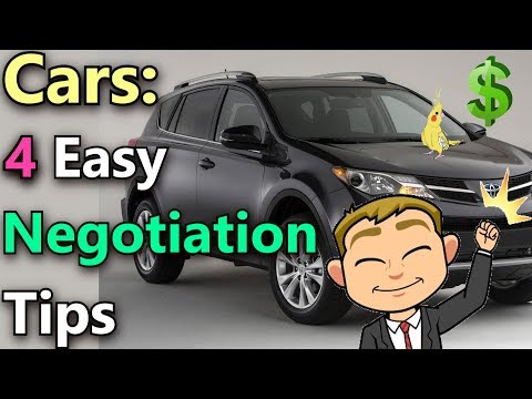 4 Basic Negotiation Tips For Buying a Used Car Online  (The Easiest Way to Negotiate a Car Deal)