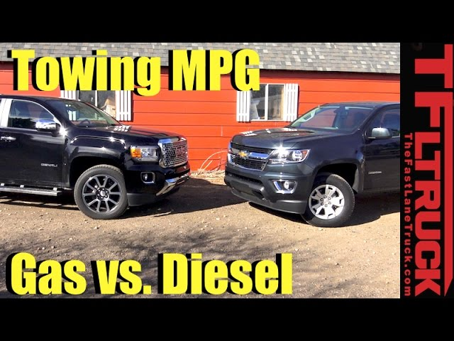 Chevy Colorado Zr2 Diesel Or Gmc Canyon Diesel Is Fuel Economy