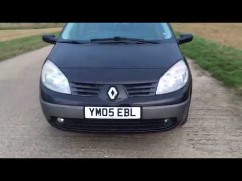 2005 RENAULT GRAND SCENIC MEGANE 2 0 16V AUTO VIDEO REVIEW