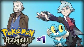 Pokémon Ascension #1 // Escolhendo o inicial !!!