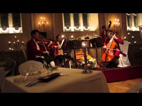 Mozart Dinner Concert in Salzburg, 10/01/13