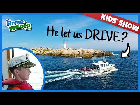 KIDS LOVE PUFFINS, SEALS, AND DEEP SEA FISHING IN PEGGYS COVE NOVA SCOTIA
