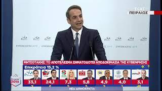 Εκλογές   Δηλώσεις Κυριάκου Μητσοτάκη   26/05/2019