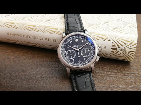 Up Close: The A  Lange & Sohne 1815 Chronograph