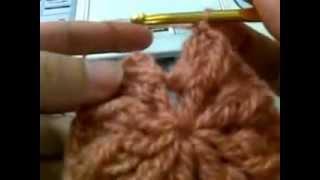 Repeat youtube video สาธิตการถักหมวกไหมพรม part 2/5
