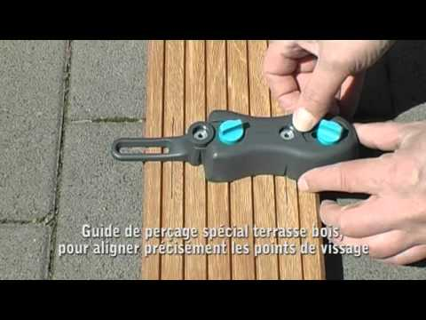 Kit De Pose De Terrasse Bois Wolfcraft Youtube