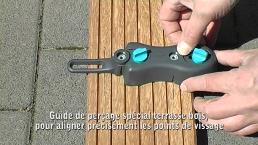 Kit De Pose De Terrasse Bois Wolfcraft