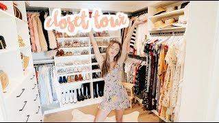 MY CLOSET TOUR!   Sierra Furtado