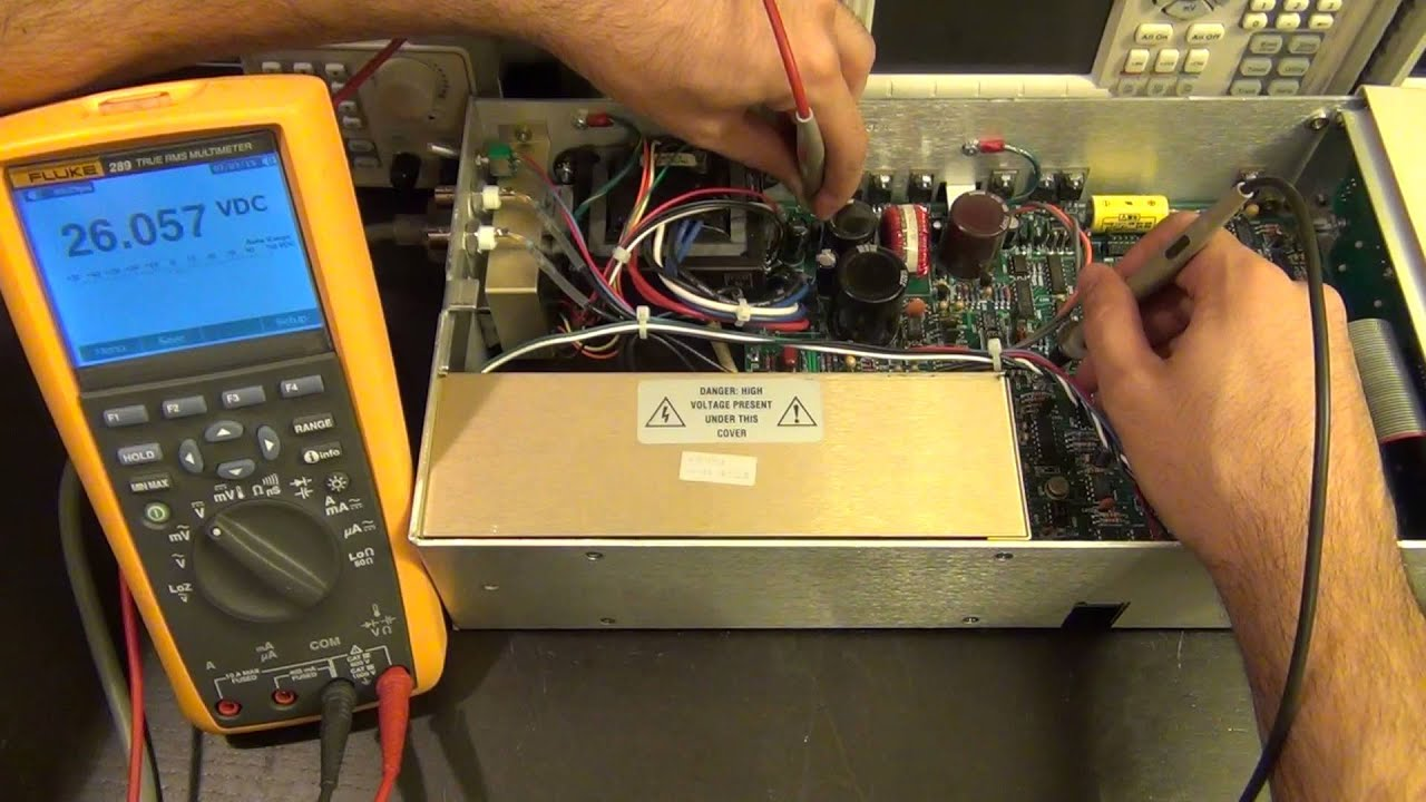 Tsp 56 Teardown Amp Repair Of A Stanford Research Ps350