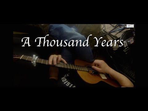 Christina Perri - A Thousand Years - Fingerstyle Guitar