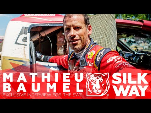 Mathieu Baumel: co-pilot of Nasser Al-Attiyah about race and life exclusively for SWR