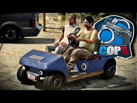 DOJ #64 [CIV] | MOBILITY SCOOTER | GTA 5 Roleplay