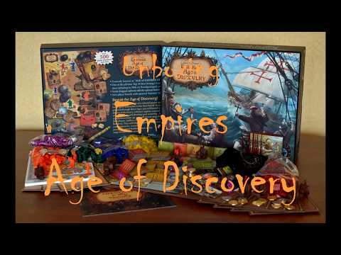 Unboxing Empires Age of Discovery