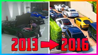 Comparing GTA Online In 2013 VS 2016 & How It