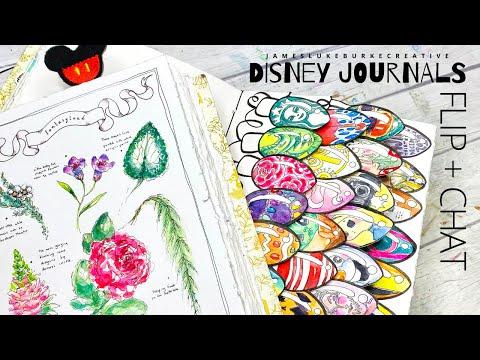 Disney Art Journals - CHAT + FLIP