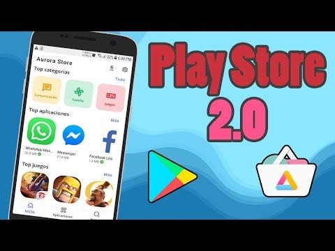 AURORA STORE - La mejor Tienda de Aplicaciones para Android