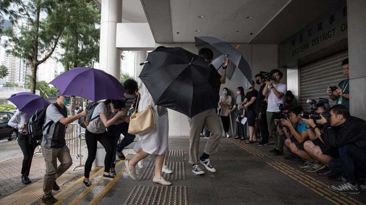 44 người ra tòa ở Hồng Kong vì cáo buộc bạo loạn