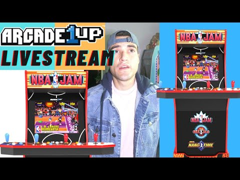 ARCADE1UP NBA JAM LIVE STREAM from Brick Rod