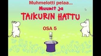 Muumit ja Taikurin hattu - osa 5 - Tiuhti ja Viuhti, Vilijonkka ja Hemuli