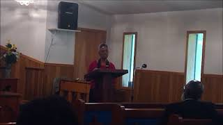 "Juanita Gould ""Without God I Can Do Nothing"" - First S.D.A. Church Eutaw, Al"