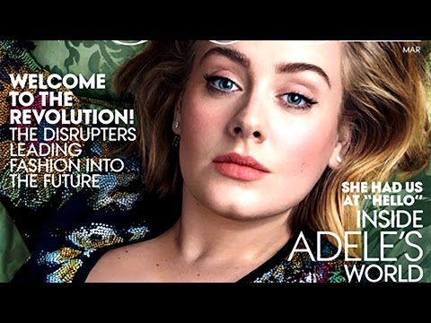 Adele Shows Off Her Weight Loss As Vogue's March Cover Model