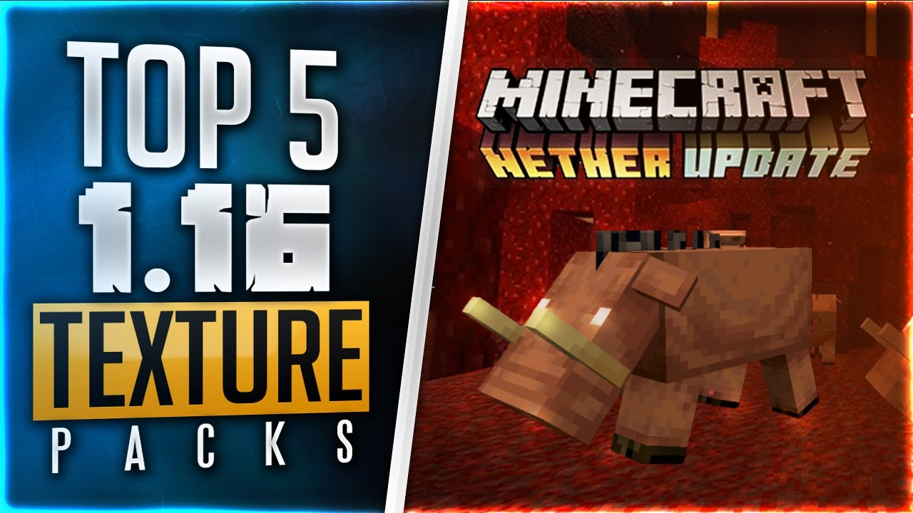 Top 5 Best 1 16 Minecraft Texture Packs 2020 Clean Fps Boost Resource Packs 1 15 1 16 Youtube