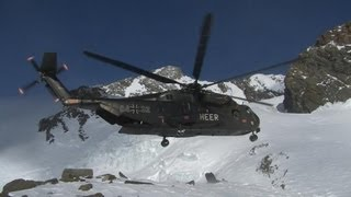 Hubschrauber am Limit