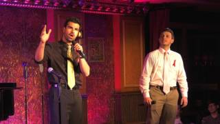 "Lucien C & Max R - ""For Good"" - WHO CARES CABARET Live at Feinstein's/54 Below"