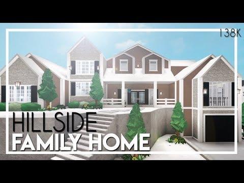 Roblox Bloxburg Aesthetic Modern Family House Youtube