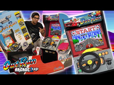 OUT RUN!? Arcade1UP Seated Cabinet - ULTIMATE UNBOXING & REVIEW! from KhanFlicks